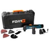 Kit Multicortadora Oscilante FORTG-FG6600 12V e Maleta + Bateria de Lítio 12V 1,3Ah