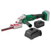 Kit Lixadeira de Cinta DWT-6014181200 18V + Bateria de Lítio 4,0Ah 18V + Carregador de Bateria 18V 2,3A