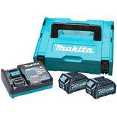 Conjunto Carregador 220V DC40RA e 2 Bateria 40V 2.5Ah Li-Ion BL4025 com Maleta