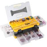 Jogo de Acessórios para Micro Retífica com 350 Peças - ARV 350 - VONDER-60.61.350.000