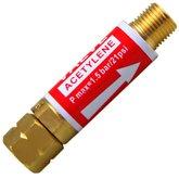 Válvula Corta Fogo para Regulador Acetileno - OMEGA-02090910002