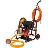 Lavadora Lava Rápido LRS 350 2CV 350 Libras 220-380V Trifásico com Carrinho, Mangueira 10m e Partida Elétrica