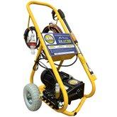 Lavadora de Alta Pressão Motor WEG 5.0CV AP 100 20L/min Trifásico 220V com Carrinho