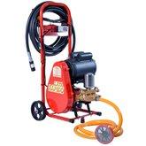 Lavadora Industrial de Alta Pressão Motor 2CV 300 Libras 28L/min Mono 220V com Carrinho