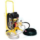 Lavadora de Alta Pressão 400Lbs 110/220V Monofásica com Carrinho