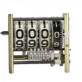 Numerador Veeder Root 903E Lado Esquerdo com 04 Dígitos em Aço