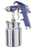 Pistola de alta pressão para pintura com regulador caudal de ar de 1.8MM
