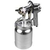Pistola para Pintura de Alta Pressão com Caneca em Alumínio 1000 ml e Bico 1,8 mm - FORTOOLS-130095