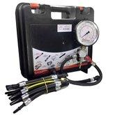 Manômetro de Pressão e Vazão p/ Bomba de Combustível com 17 Mangueiras de Injeção Eletrônica Anti Chama