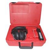 Estetoscópio Eletrônico para Detecção de Ruídos com Fone de Ouvido e Estojo
