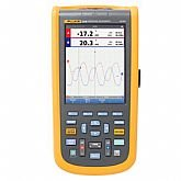Osciloscópio Portátil ScopeMeter Industrial 124B 40 Mhz com 2 Canais - FLUKE-4755793