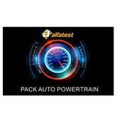 Cartão Pack Auto Powertrain Sistemas de injeção Eletrônica, Ciclo Otto e Diesel - ALFATEST-4.28.01.041