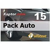Cartão Pack Auto 15 - ALFATEST-PACK15