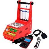 Kit Máquina Limpeza/Teste injetores Padrão/GDI Injeção Direta Planatc LB-30000/G4 + Scanner + Caneta de Polaridade