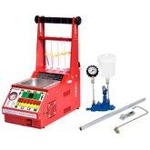 Máquina Limpeza/Teste Injetores Padrão/GDI Injeção Direta com Estrobo 34 Funções e Cuba 1L + Testador Bico CM-300/GDI