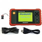Scanner Planatc by Launch para Diagnósticos Motor, A/T, Abs, Airbag, Flex - AF e Oil Reset