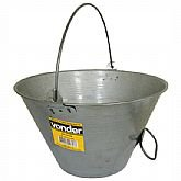 Balde metálico para concreto 10 litros - Vonder - VONDER-3315010000