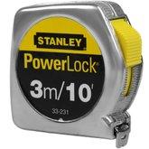 Trena Powerlock de 3 Metros - STANLEY-33-231S