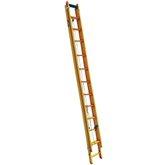 Escada Extensível Prática 19 Degraus Tipo D em Fibra 3,50 x 5,92 Metros