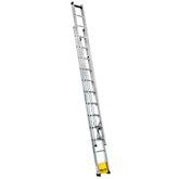Escada Extensível Vazada 270 x 420 Cm com 15 Degraus