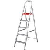 Escada Doméstica em Alumínio 5 Degraus 1,53m