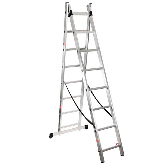 Escada Extensiva Alumínio 2x9 Degraus