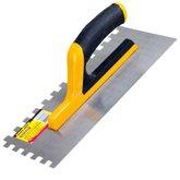 Desempenadeira Dentada Profissional 10mm 280 x 120 mm