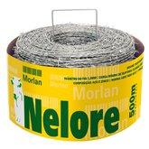 Arame Farpado Nelore 1,60 x 125 mm de 500 Metros - MORLAN-1078