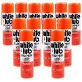 Kit Desengripante Spray White Lub Super 300ml com 12 Unidades