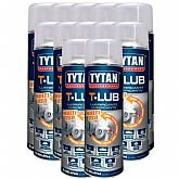 Kit com 12 Lubrificantes Spray T-Lub 300ml  - TYTAN-K74