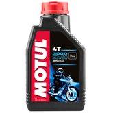 Óleo Lubrificante Mineral 1L para Motor de Motos 4T