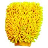 Esponja tipo Luva em Microfibra Amarela 250 x 180mm