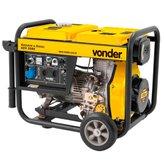 Gerador de Energia a Diesel Monofásico 5,5KVA Bivolt