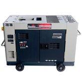 Gerador de Energia Cabinado 10 kVA à Diesel Bivolt Monofásico - TDWG12000SGE - TOYAMA-55-1110
