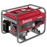Gerador de Energia à Gasolina 7,0CV 3,5KW Monofásico 110/220V com AVR e Partida Manual