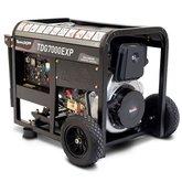 Gerador XP ATS Ready Diesel 418cc 6 Kva partida Manual e Elétrica 110V/220V Mono