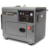 Gerador a Diesel 418cc 4T 6 Kva 110/ 220V Mono com Partida Elétrica