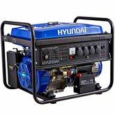 Gerador de Energia à Gasolina Monofásico Bivolt Partida Elétrica 5.5Kva - HYUNDAI-HHY6800FE
