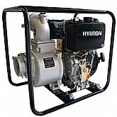Motobomba a Diesel 4 x 4 Pol. Auto Escorvante 10HP - HYUNDAI-DHY100L