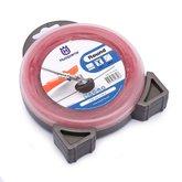 Fio de Nylon 3,0mm x 10m Vermelho para Roçadeiras