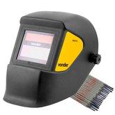 Kit Máscara de Solda Escurecimento Automático Vonder MSV012 + Eletrodo 6013 Titanium 4870 - VONDER-K148