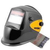 Kit Máscara de Solda Escurecimento Automático MSV 913 Vonder + Eletrodo 6013 Titanium 4870