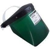 Protetor Facial 8 Pol. Verde sem Catraca - CARBOGRAFITE-010230510