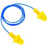 Protetor Auricular em Copolímero Tipo Plug com Cordão em PVC