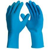 Luva de Segurança Silver Látex Azul Tamanho M