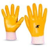 Luva de Segurança Nitrili-Ka25 Amarela Tamanho M