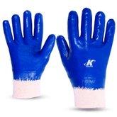 Luva de Segurança Nitrili-Ka30 Azul Tamanho M