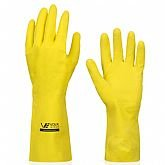 Luva Multiuso Látex Standard Amarelo com Forro - Extra Grande