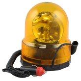 Luz de Emergência Giroflex Amarela Redonda 12V