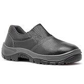 Sapato de Segurança Preto HLS em Microfibra com Elástico Nº 40